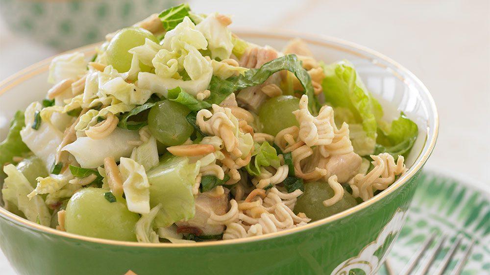 asian-chicken-ramen-and-grape-salad