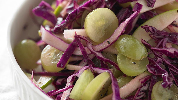 grape-apple-and-red-cabbage-slaw