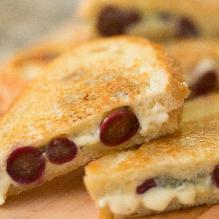 Grape Grilled Cheese