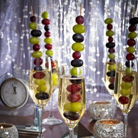 Grape skewers