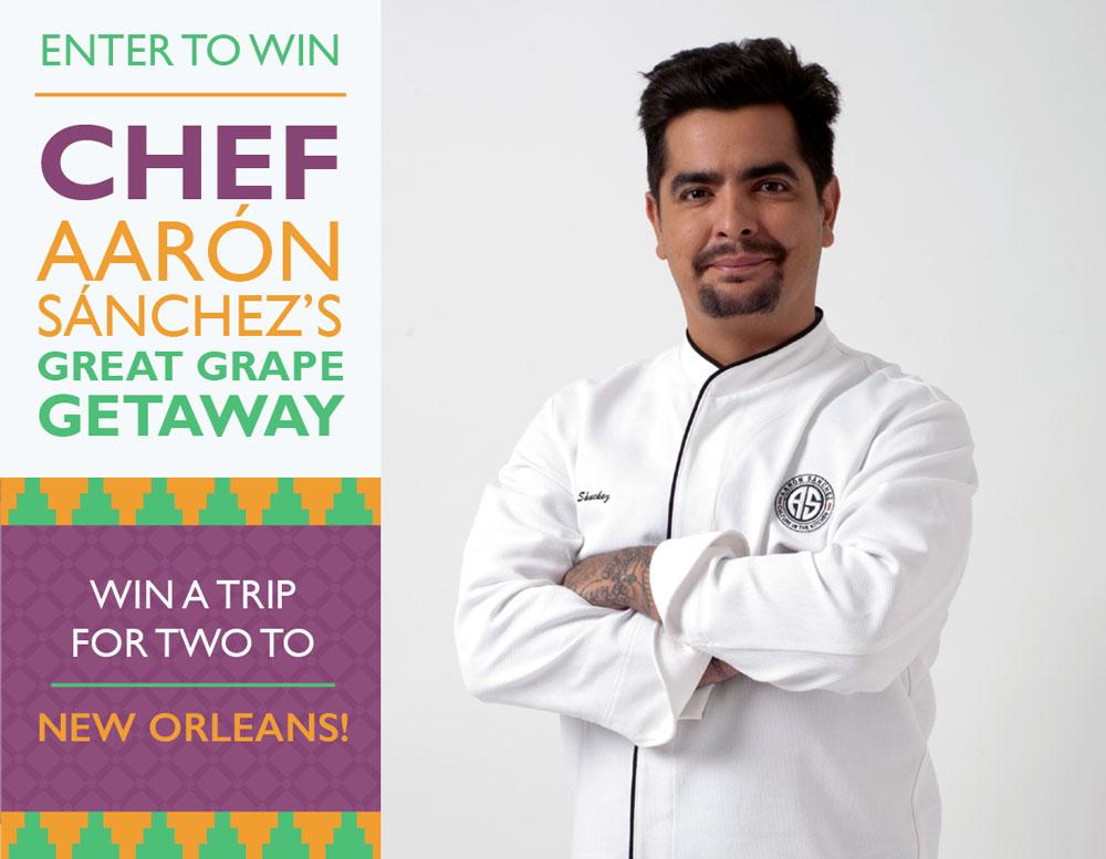 chef aaron contest