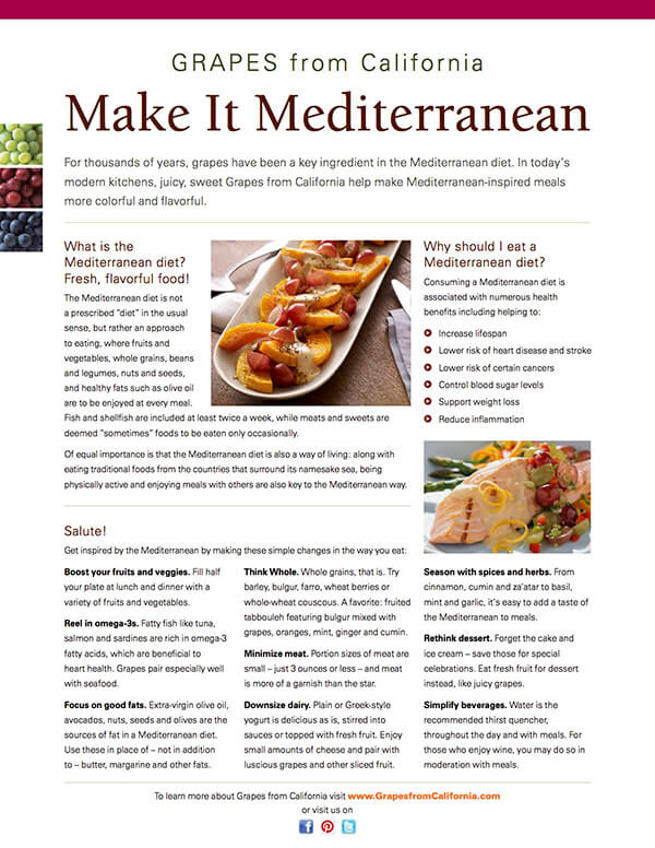 Make it Mediterranean