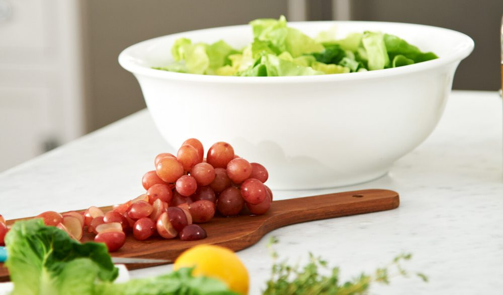 Grapes and Salads