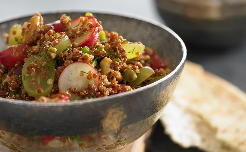 Quinoa and Grape Curry