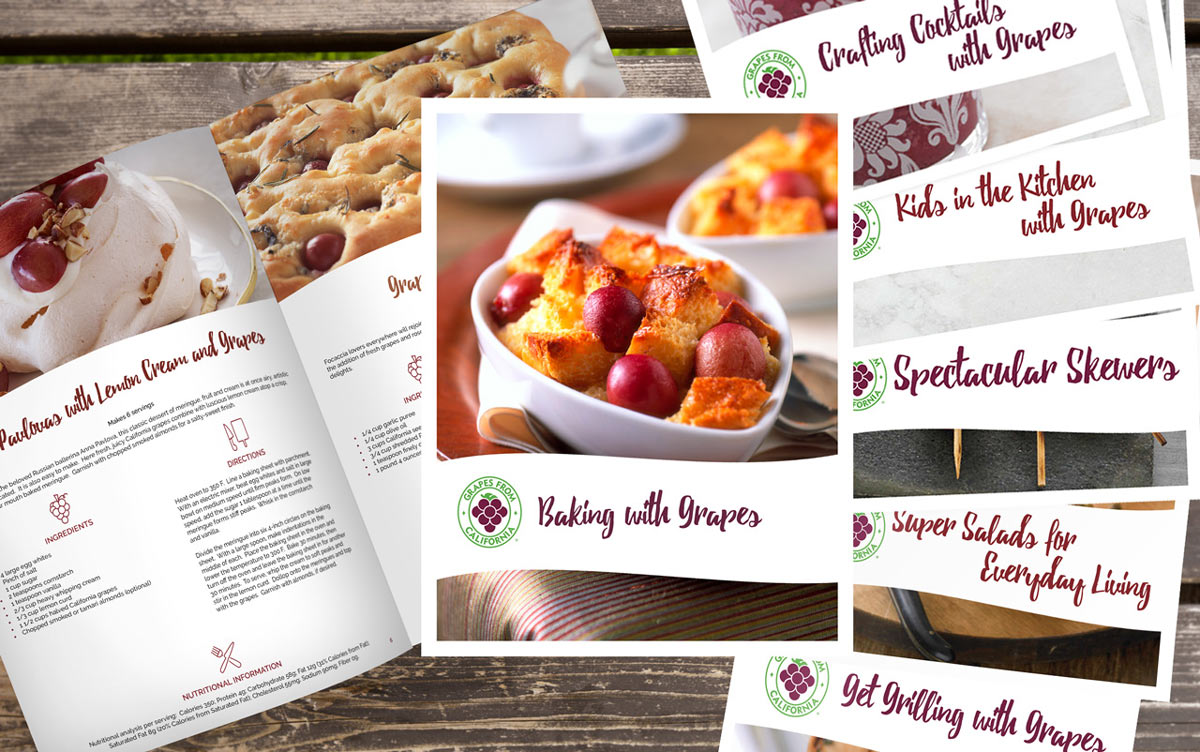 Baking With Grapes E-Book