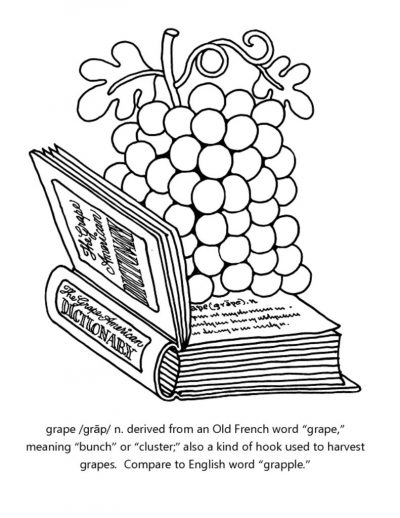 thumbnail of grape-coloring-sheet