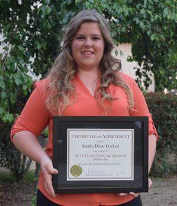 Sandra Gaylord Scholarship