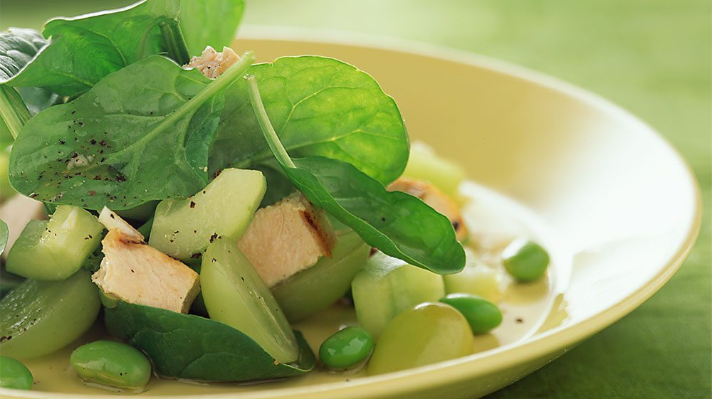 asian-spinach-and-grape-salad