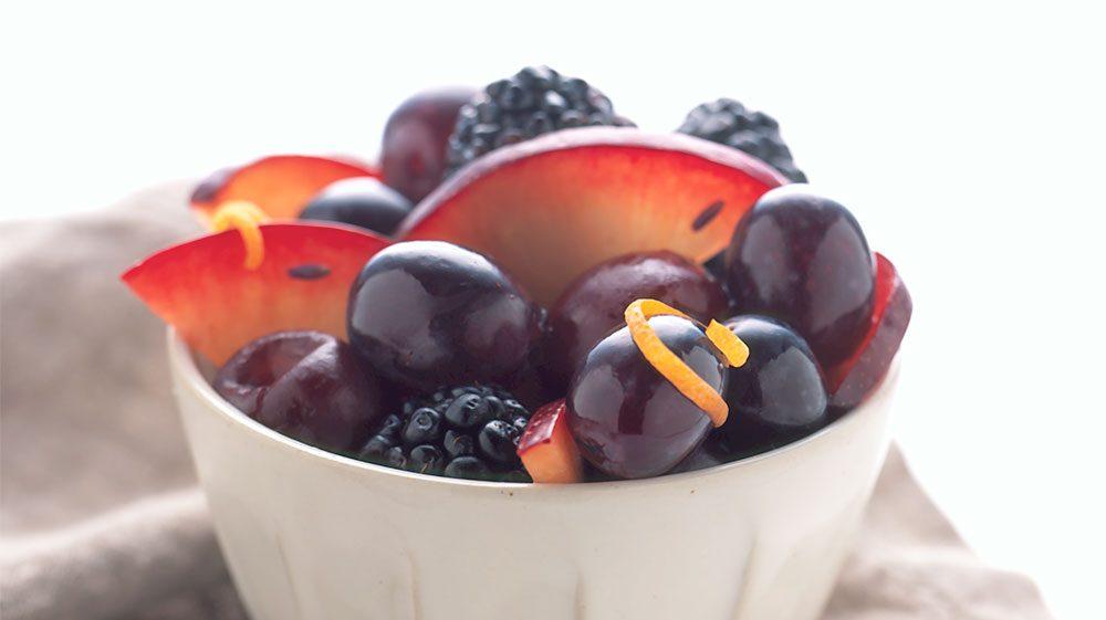 black-fruits-in-lavender-honey-glaze