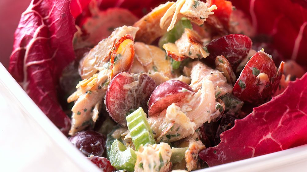 dijon-chicken-salad-with-grapes-and-honey-roasted-nuts