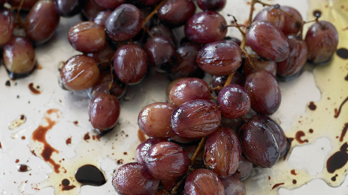 Oven Roasted Grapes
