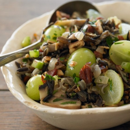 grape and wild rice stuffing