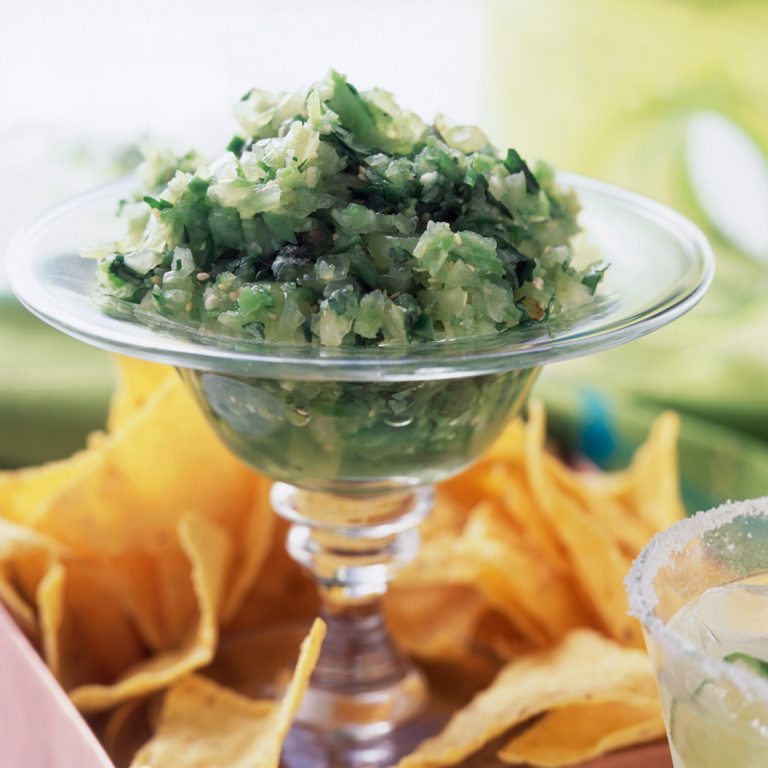 Green Grape -and Tomatillo Salsa