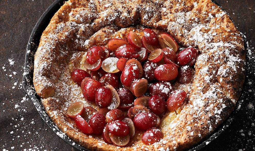 Grape Dutch Baby