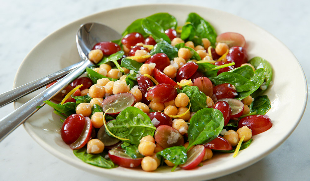 Warm-Chickpea-and-Grape-Salad