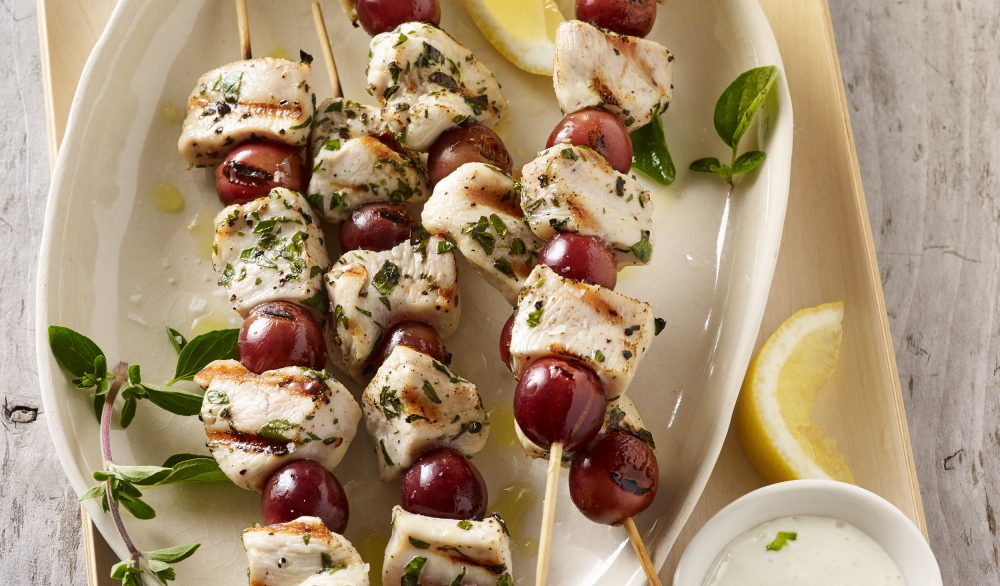 Feta Stuffed Chicken Breasts With Grape Port Sauce Grapes From California